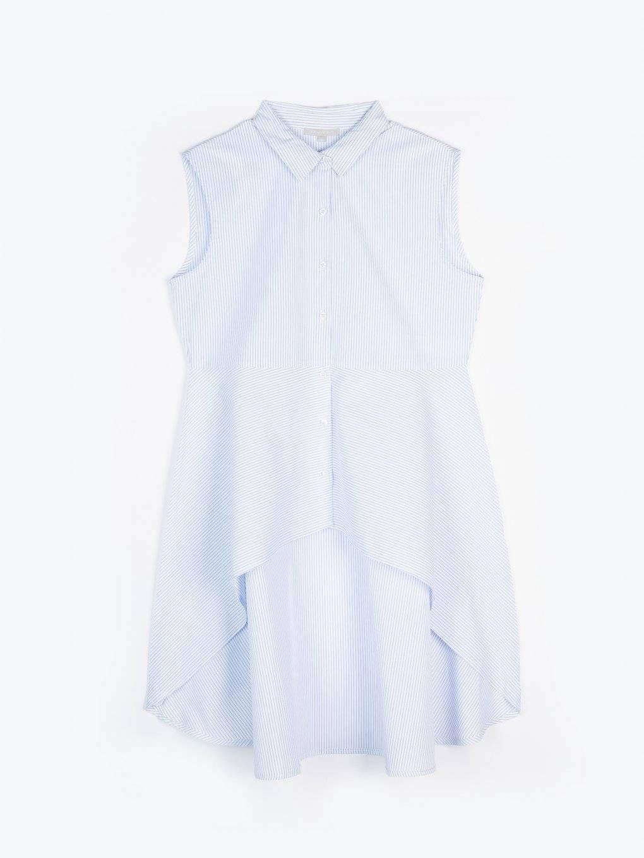 Długa bluzka peplum