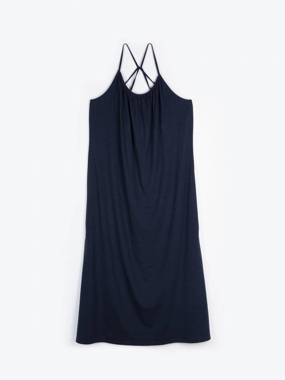 Volné dlouhé šaty