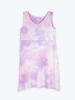 Strappy tie-dye dress
