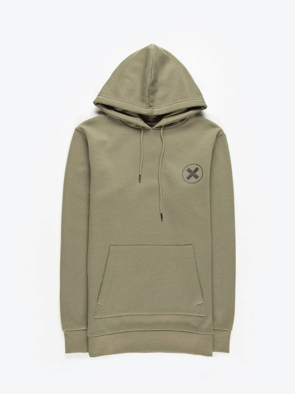Hoodie with chest print