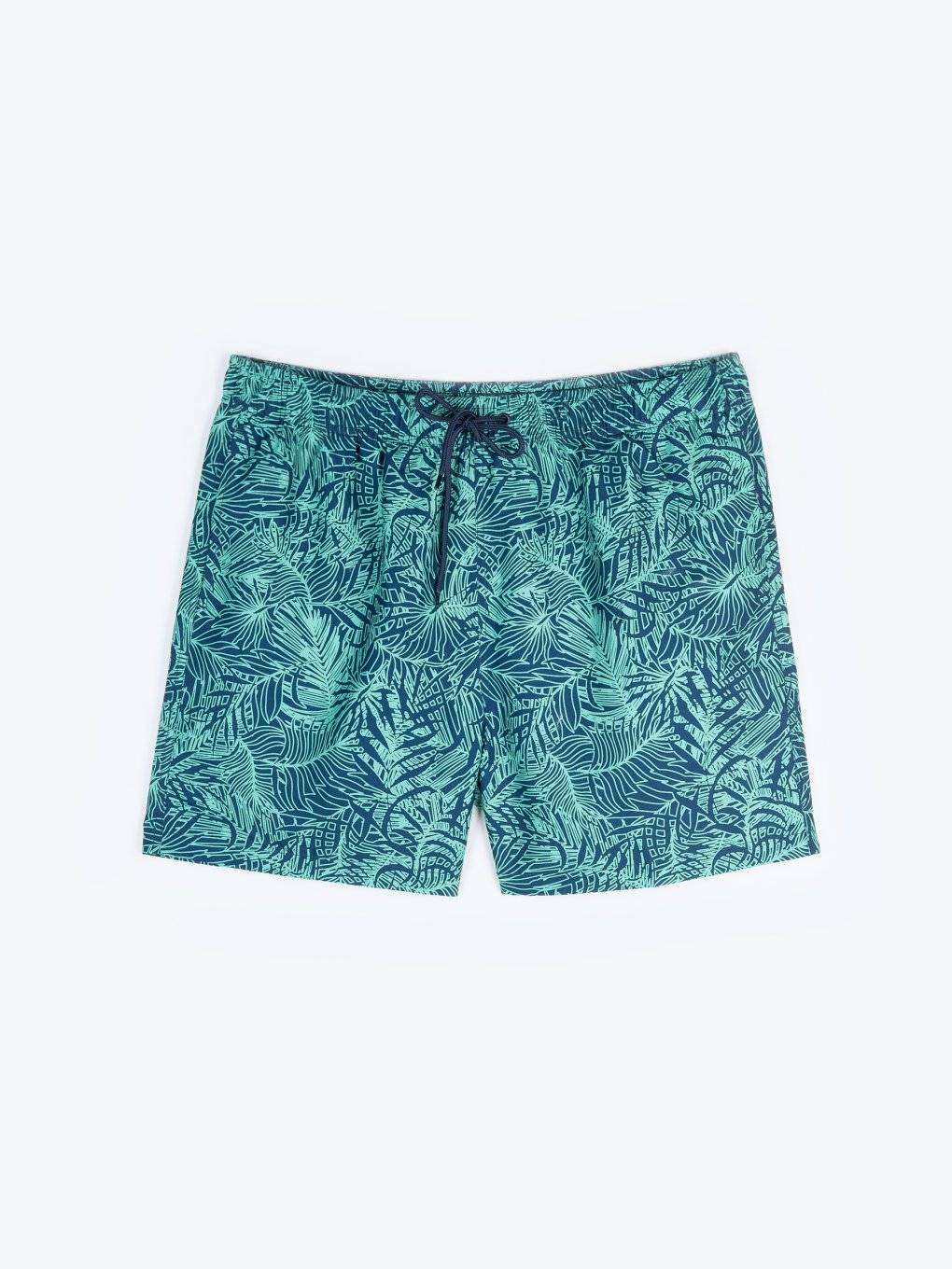 Swim shorts with floral print