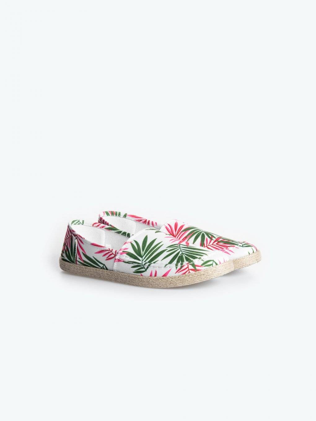 Espadrilles with print