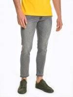 Basic straight slim  fit jeans