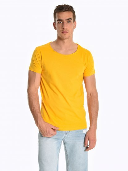 Basic koszulka slim fit