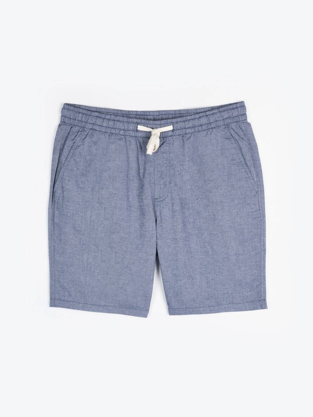 Regular fit cotton shorts