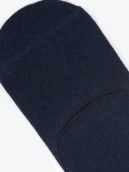 Sada tří párů neviditelných ponožek