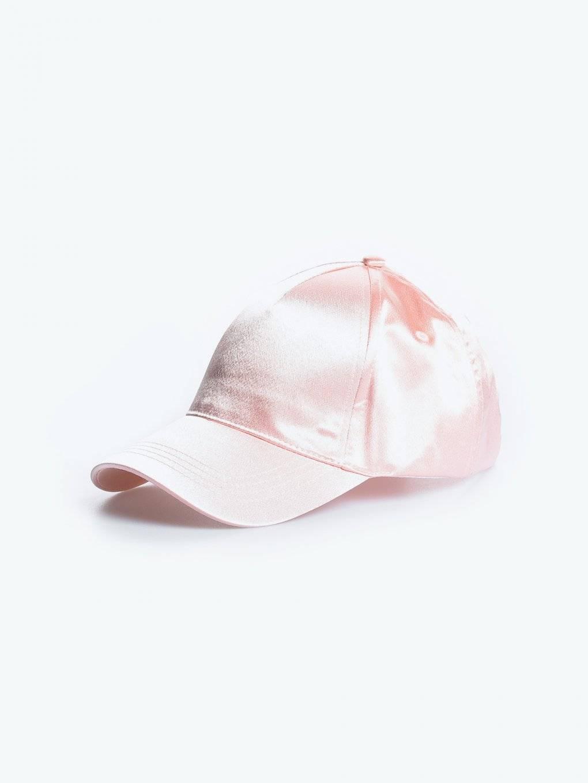 Shiny baseball cap