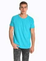 Basic slub jersey t-shirt
