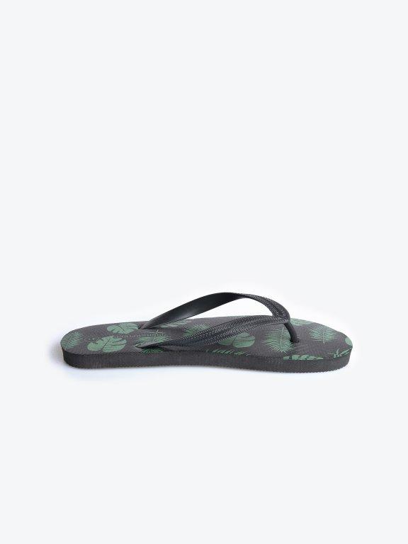Plážové ťapky s potiskem