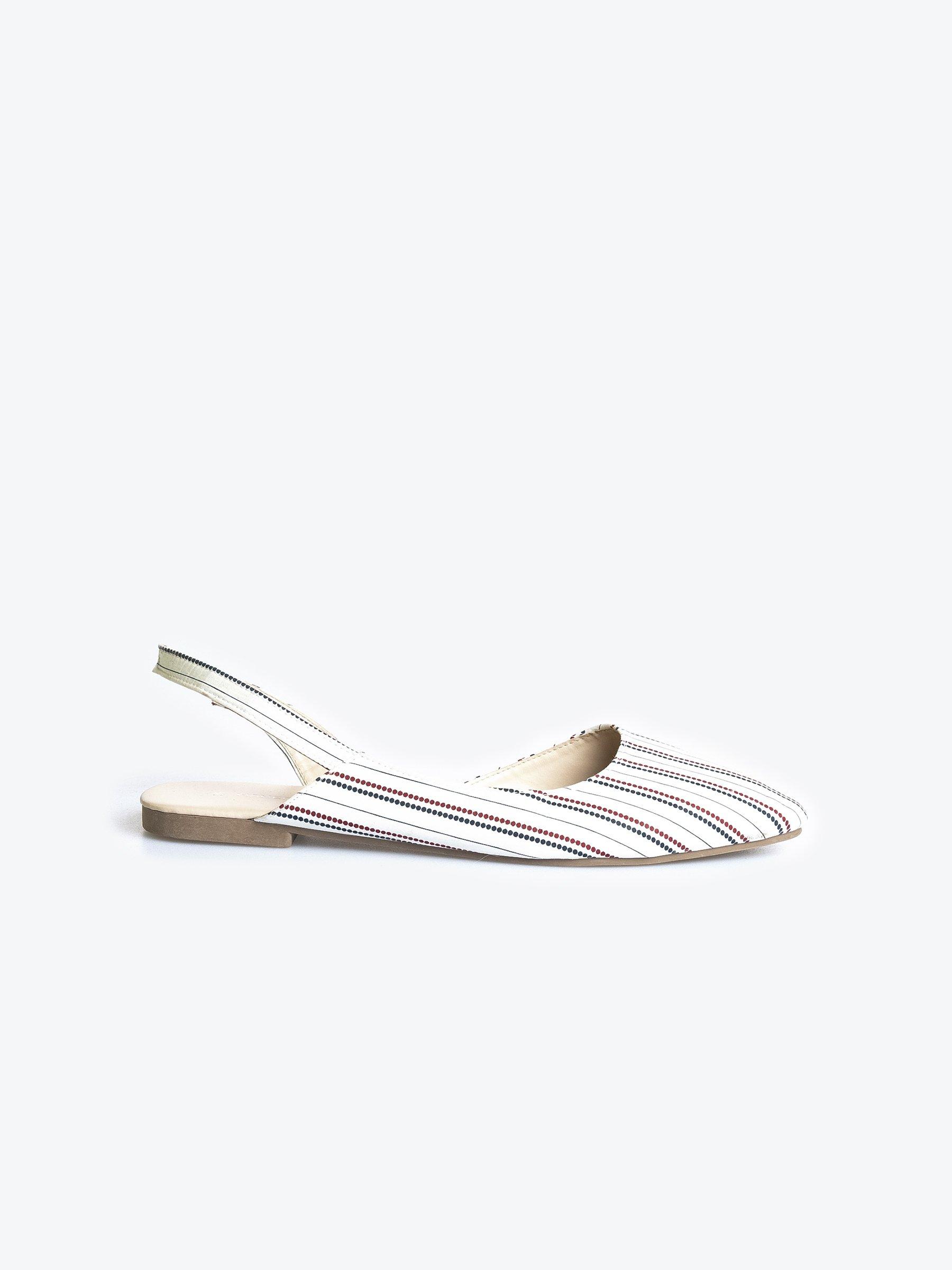 Flat slingback sandals | GATE