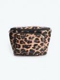 Faux leather bum bag