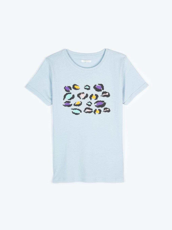 Tričko so zvieracou potlačou
