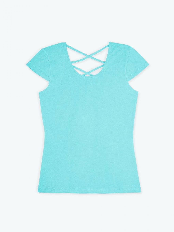 Basic stretchy short sleeve t-shirt