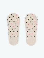 2-pack dotted footies