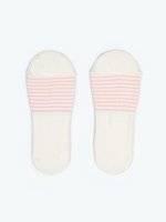 2-pack striped footies