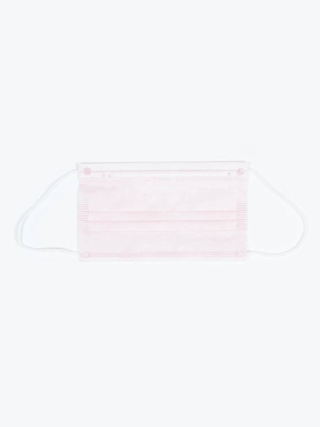 3-ply pink disposable face mask (50 pcs)