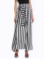Maxi striped skirt