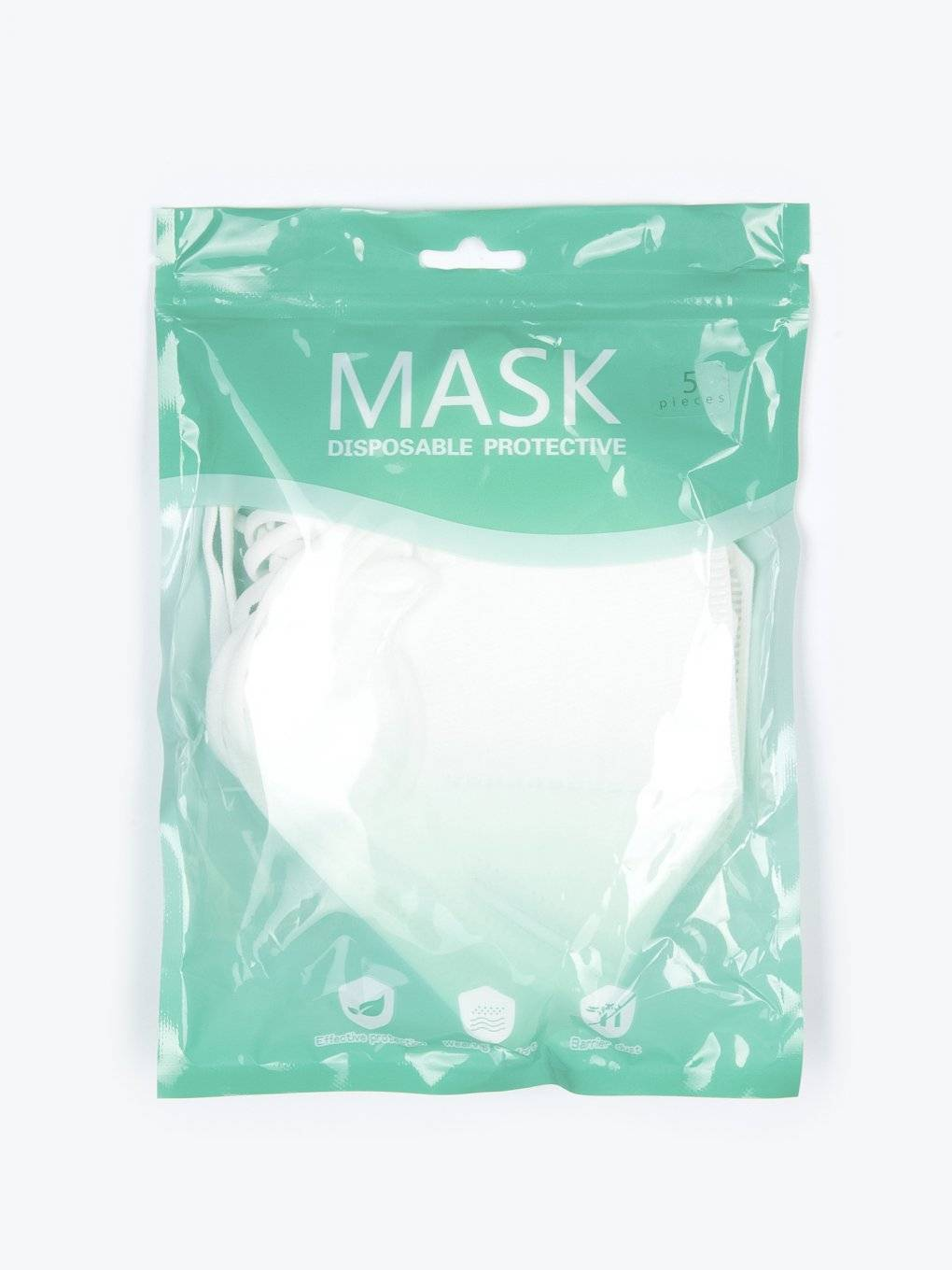 4-ply face mask (5 pcs)