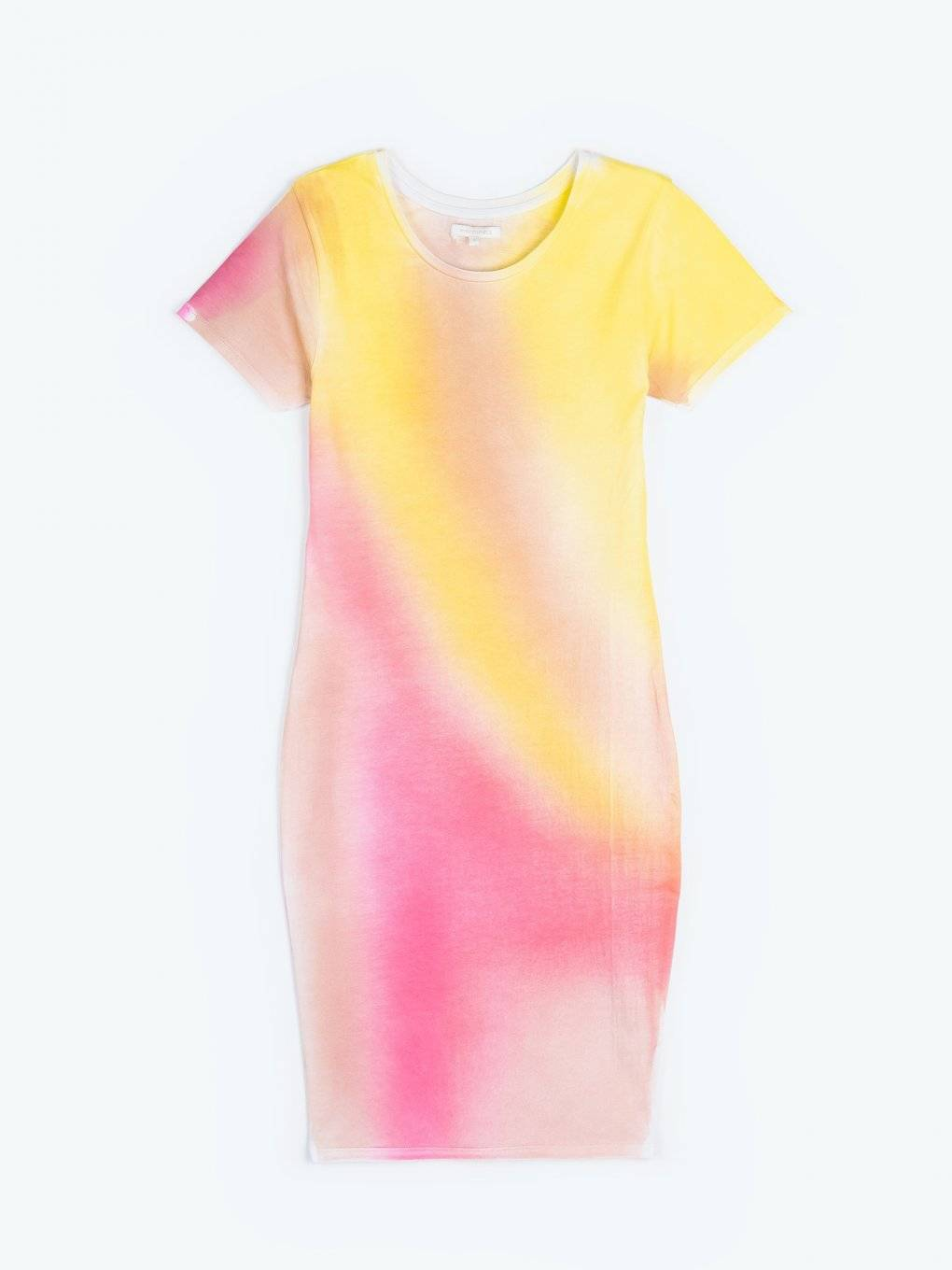 Tie-dye t-shirt dress