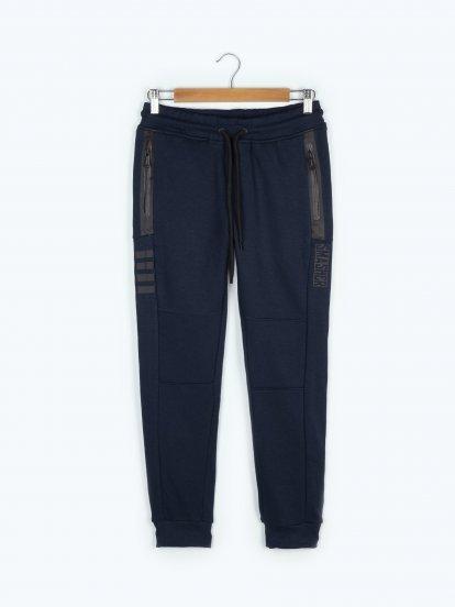 Sweatpants with print
