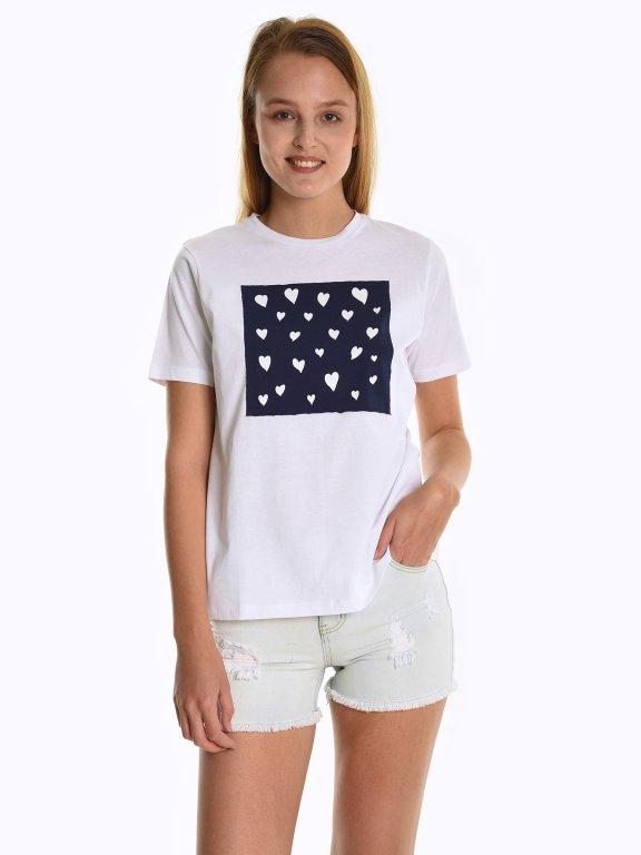 Tričko s nášivkou
