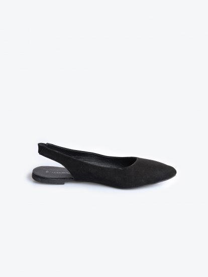 Sandále s otevřenou patou