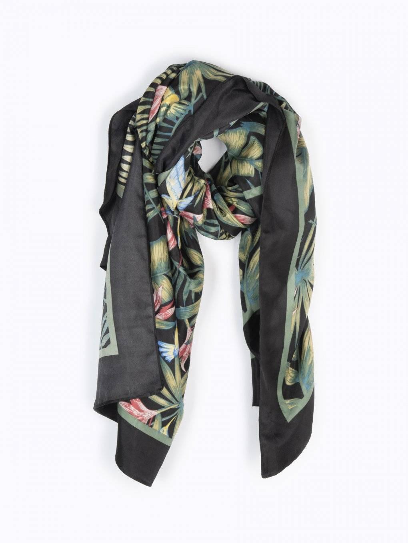 Šátek s tropickým potiskem