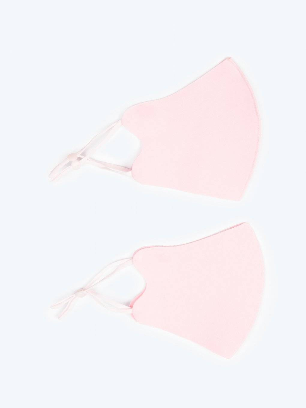 2-pack ice silk reusable face mask