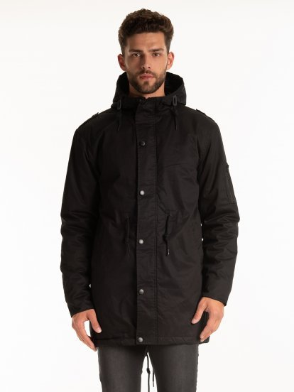Light padded cotton parka