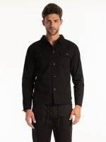 Košile regular fit s neopracovaným lemem