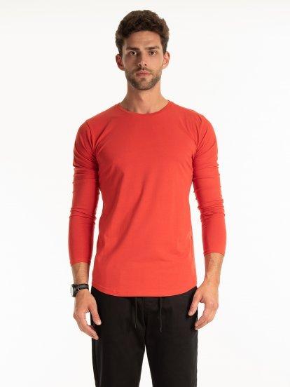 Základné strečové tričko slim fit