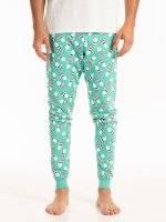 Christmas print pyjama bottoms