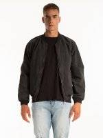 BOMBER JACKET WITH BACK PRINT