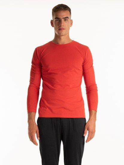 Základné tričko slim fit