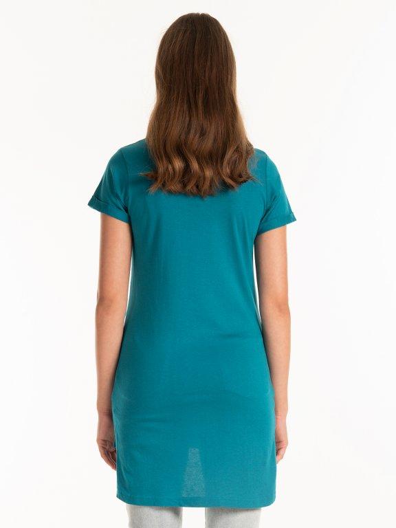 Basic longline t-shirt