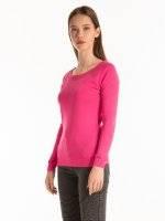 Basic rib-knit t-shirt