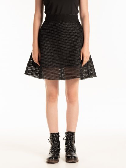 COMBINED A-LINE SKIRT
