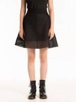 Kombinovaná áčková sukně