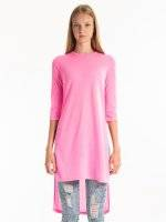 LONGLINE T-SHIRT WITH SIDE SLITS
