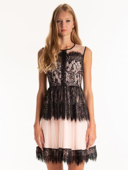 Čipkové šaty