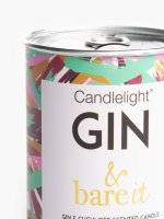 Gin & cucumber scented candle in tin