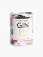 Pink gin scented candle in tin