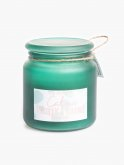 Pineapple and coconut scented candle