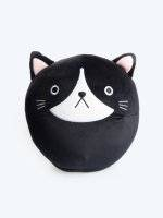 Cat round pillow
