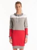 Bluzowa sukienka