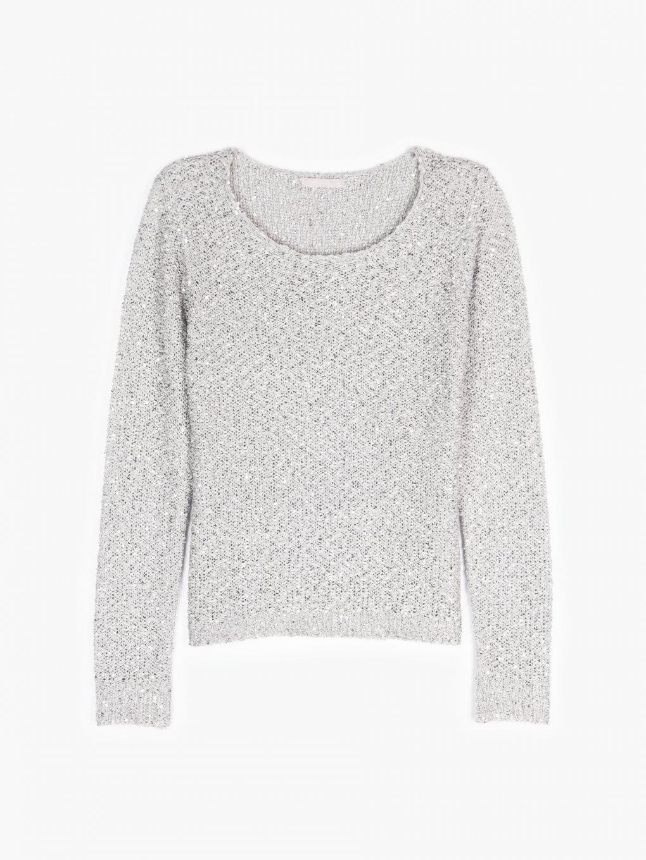 Flitrovaný svetr