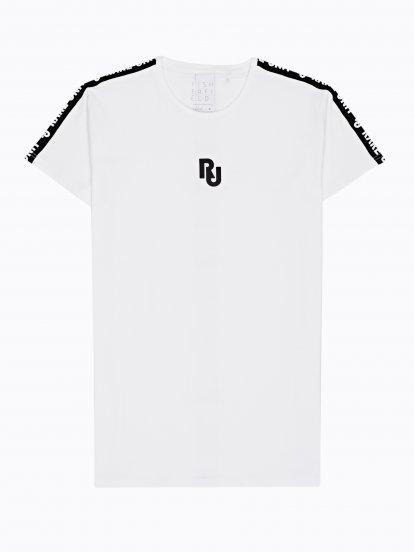 Oversized taped t-shirt