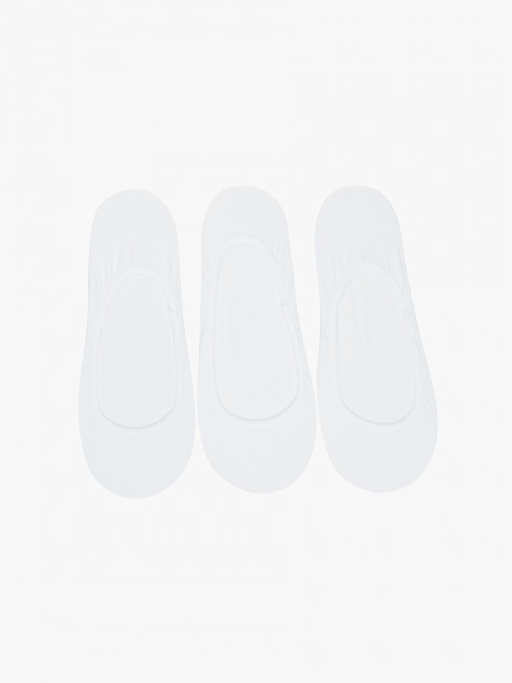 3-pack basic seamless footies