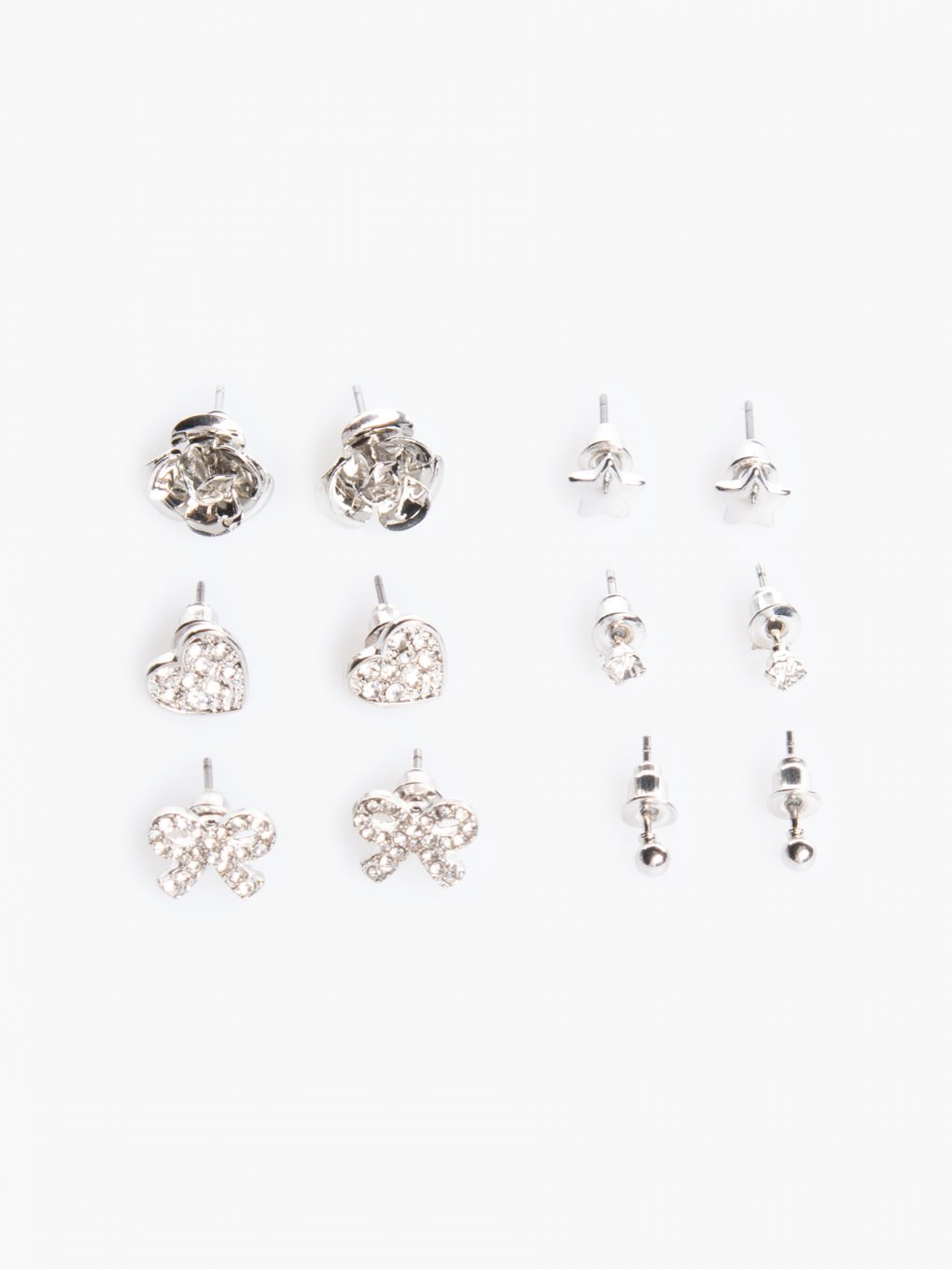 6-pairs earrings