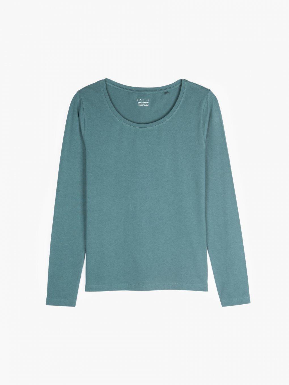Základní tričko s dlouhým rukávem